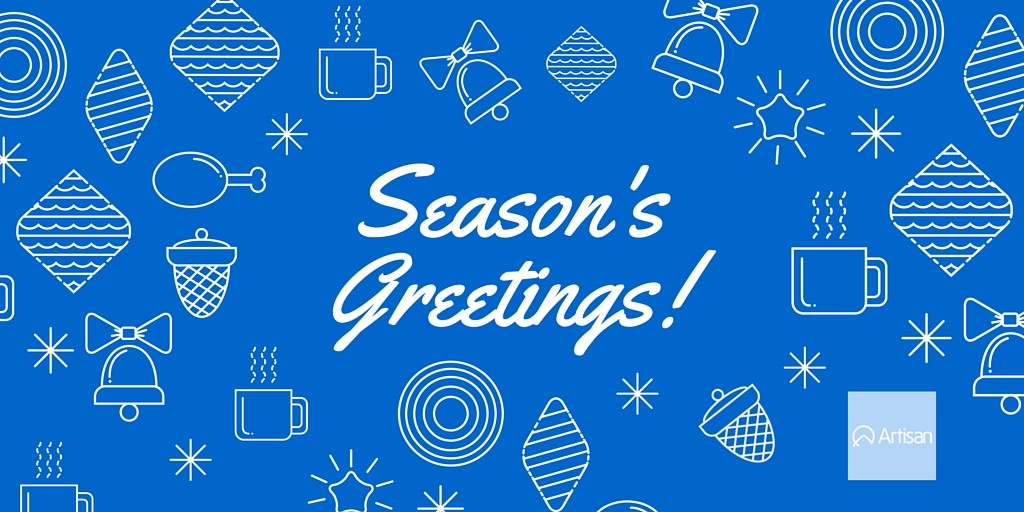 Season's Greetings from Artisan Talent
