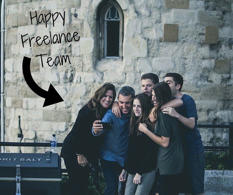 How to create a freelance team that works