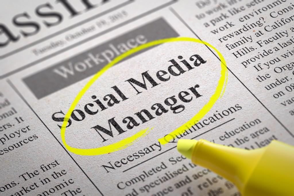 Social Media Interview Questions Manager Job