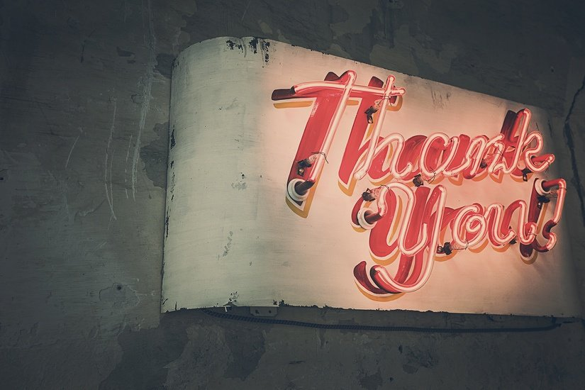 What to write in a post interview thank you note