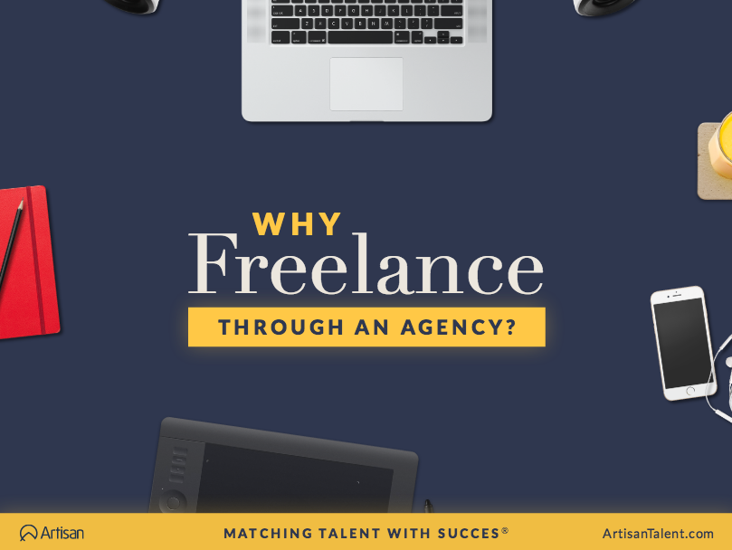 Why Freelance Through a Temp Agency?