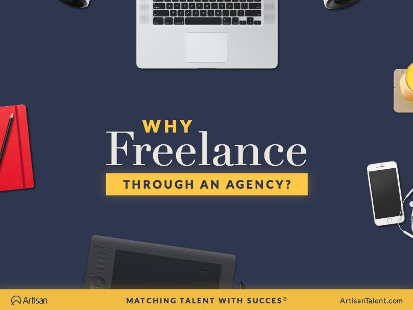 Why Freelance Through a Temp Agency?
