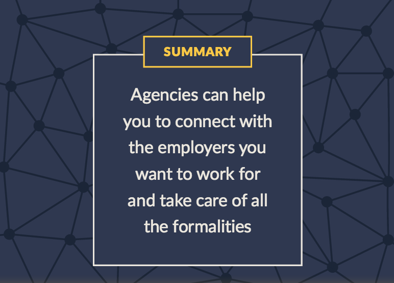 Freelancing with a staffing agency