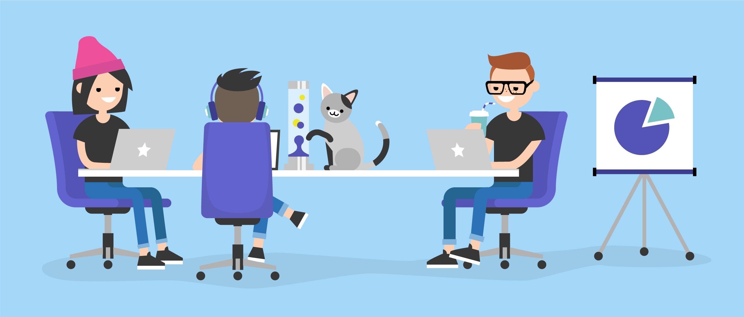 Cool Office Culture Google