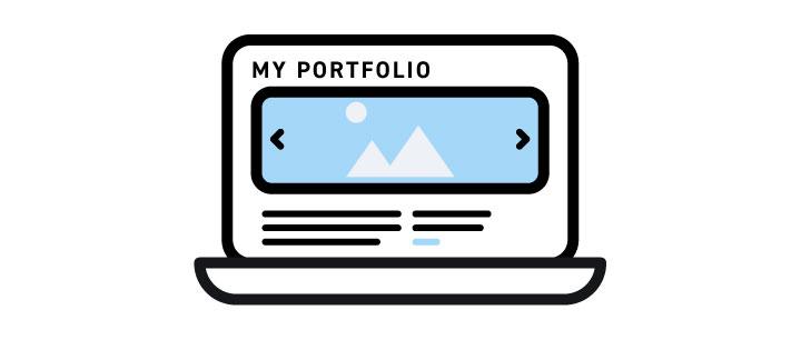Create a portfolio for 2020