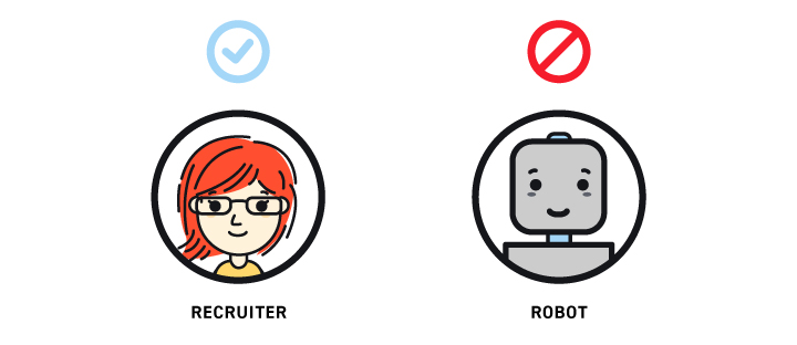 Why do employers ghost? Because Recruiters are not Robots.