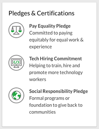 Glassdoor Pledges