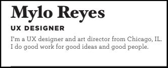 Mylo Reyes