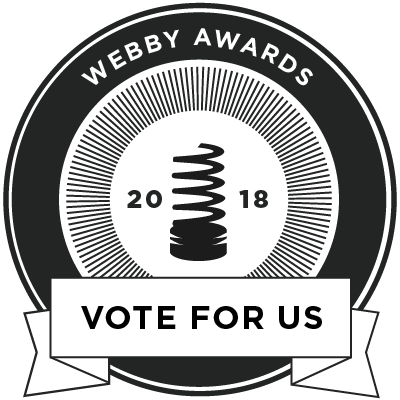 Webby Awards Vote for Me