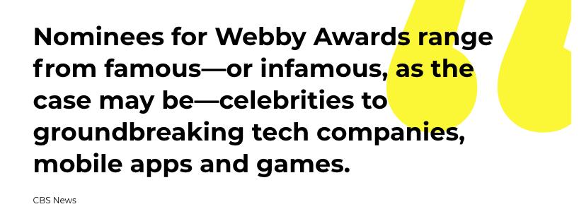 Webby Quote