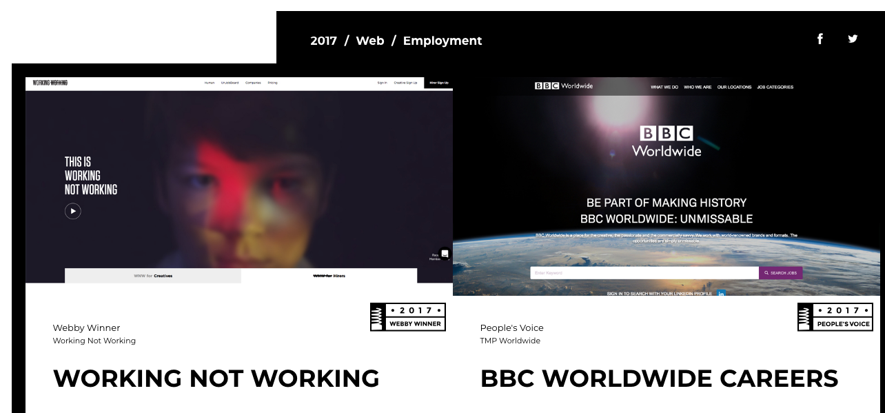 webby 2017