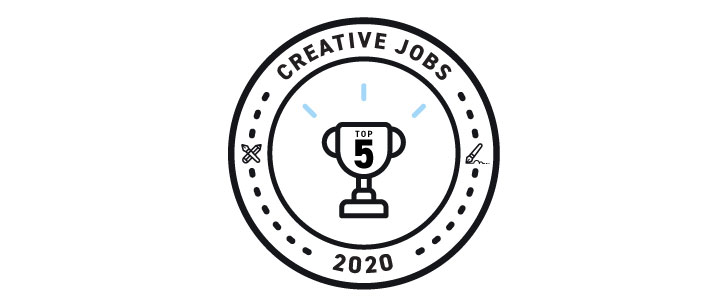 Top 5 Creative Jobs in 2020