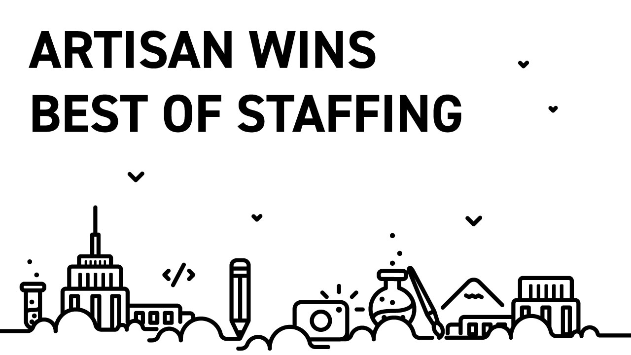 Artisan Wins Best of Staffing 2018
