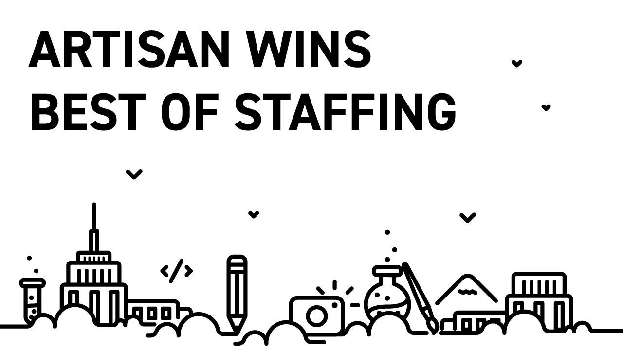 Artisan Wins Best of Staffing 2018